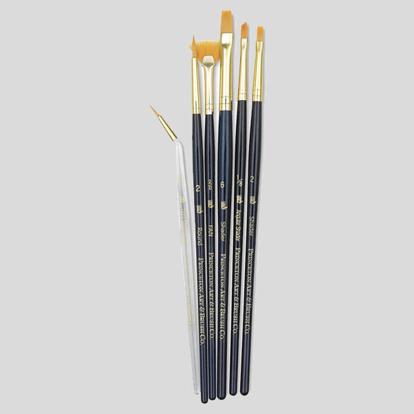 Princeton 6 Paint Brush Set (9133) - Street Lab UK