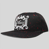 Moss Angel Dust Snapback Cap - Black - Street Lab UK - 2
