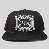 Moss Angel Dust Snapback Cap - Black - Street Lab UK - 1