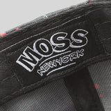 Moss Angel Dust Snapback Cap - Black - Street Lab UK - 4