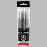 Angelus Micro Detail 5 Paint Brush Set