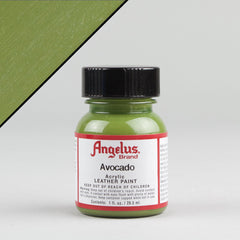 Angelus Leather Paint 1oz - Avocado - Street Lab UK