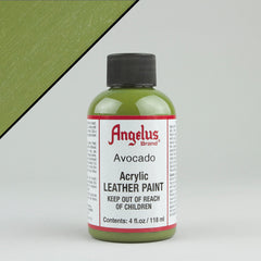 Angelus Leather Paint 4oz - Avocado - Street Lab UK