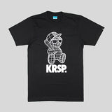 KRSP 3D Bear T-Shirt - Black - Street Lab UK - 1