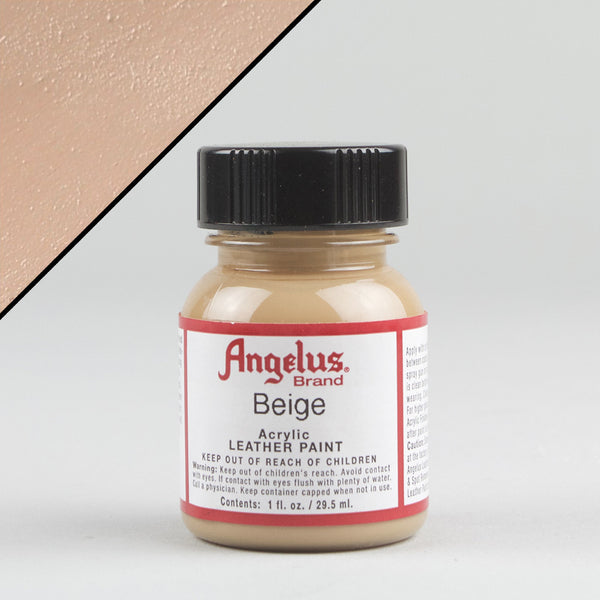 Angelus Leather Paint 1oz - Beige - Street Lab UK