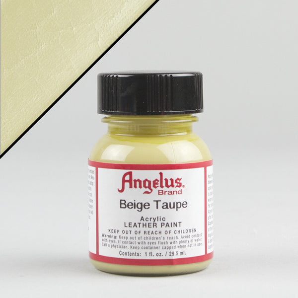 Angelus Leather Paint 1oz - Beige Taupe - Street Lab UK