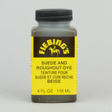 Fiebing's Suede & Roughout Dye 118ml (4oz) - Beige - Street Lab UK