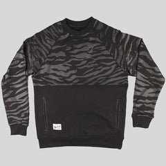 Bloodbath Bengal Crewneck Sweater - Black - Street Lab UK - 1