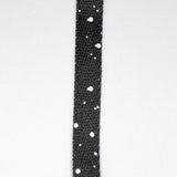 Fully Laced Speckle Print Shoelaces - Black & White - Street Lab UK - 2