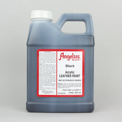 Angelus Leather Paint Pint (472ml) - Black - Street Lab UK