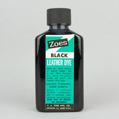 Zoes Leather Dye 74ml (2.5oz) - Black - Street Lab UK