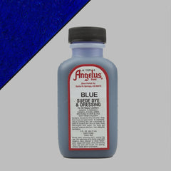 Angelus Leather Paint & Dyes - Blue Suede Dye 3oz - Street Lab UK