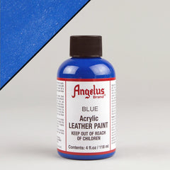 Angelus Leather Paint 4oz - Blue - Street Lab UK