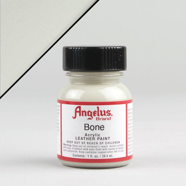 Angelus Leather Paint 1oz - Bone - Street Lab UK