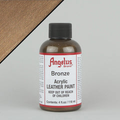 Angelus Leather Paint 4oz - Bronze - Street Lab UK