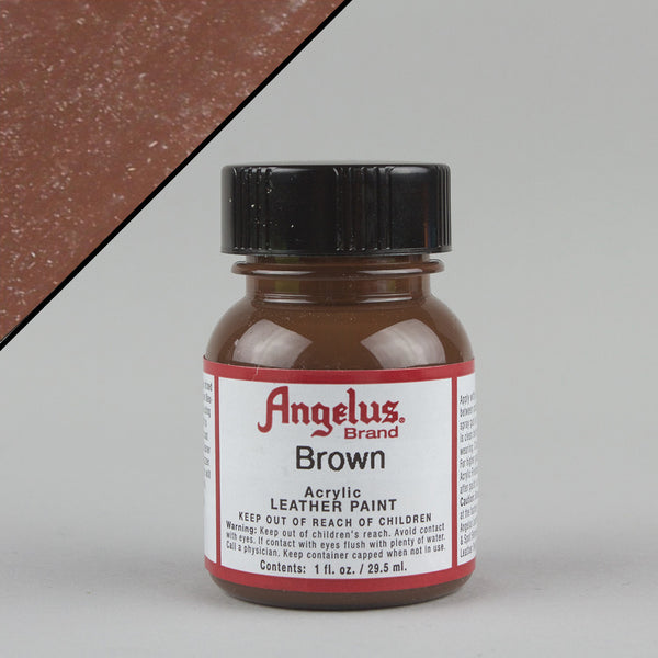 Angelus Leather Paint 1oz - Brown - Street Lab UK