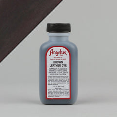 Angelus Leather Paint & Dyes - Brown Leather Dye 3oz - Street Lab UK