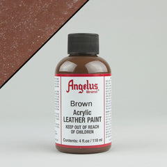 Angelus Leather Paint 4oz - Brown - Street Lab UK