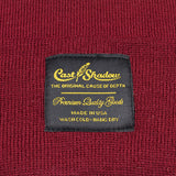 Cast Shadow Gold Label Beanie - Burgundy - Street Lab UK - 2