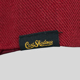 Cast Shadow Quicksand Snapback Cap - Burgundy - Street Lab UK - 4