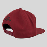 Cast Shadow Quicksand Snapback Cap - Burgundy - Street Lab UK - 5