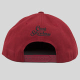 Cast Shadow Quicksand Snapback Cap - Burgundy - Street Lab UK - 6