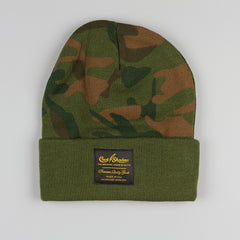 Cast Shadow Gold Label Beanie - Camo - Street Lab UK - 1