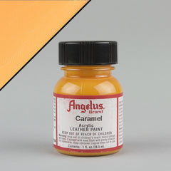 Angelus Leather Paint 1oz - Caramel - Street Lab UK