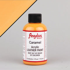 Angelus Leather Paint 4oz - Caramel - Street Lab UK