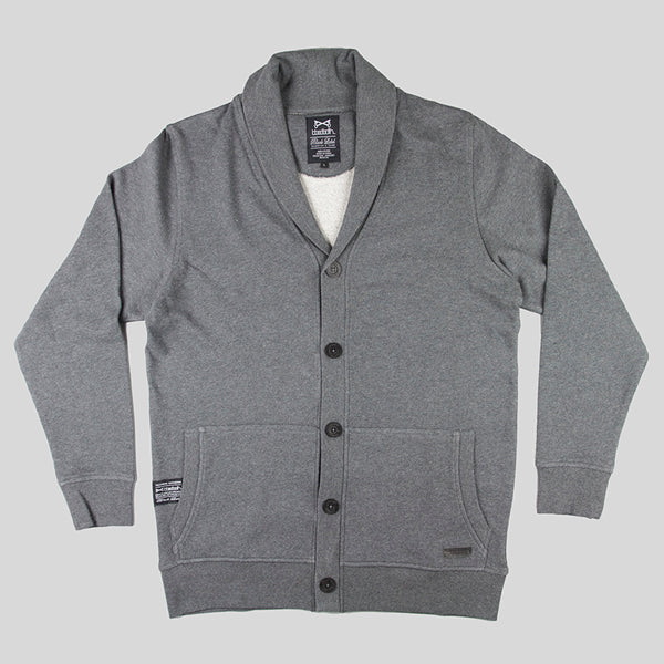Bloodbath Cardinal Cardigan - Charcoal - Street Lab UK - 1