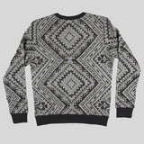 Moss Magic Carpet Crewneck Sweater - Black - Street Lab UK - 3