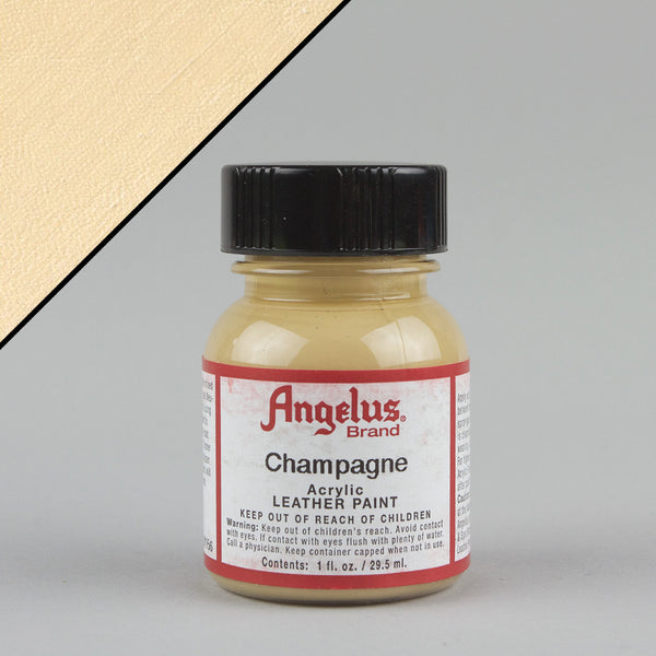 Angelus Leather Paint 1oz - Champagne - Street Lab UK