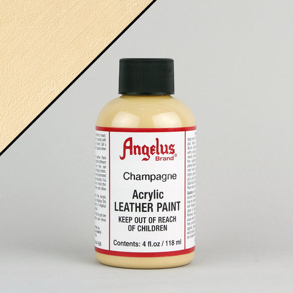Angelus Leather Paint 4oz - Champagne - Street Lab UK