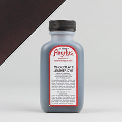 Angelus Leather Paint & Dyes - Chocolate Leather Dye 3oz - Street Lab UK