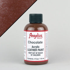 Angelus Leather Paint 4oz - Chocolate - Street Lab UK