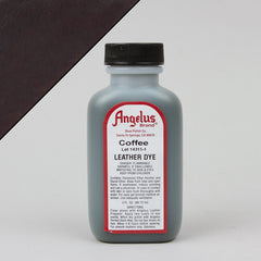 Angelus Leather Paint & Dyes - Coffee Leather Dye 3oz - Street Lab UK