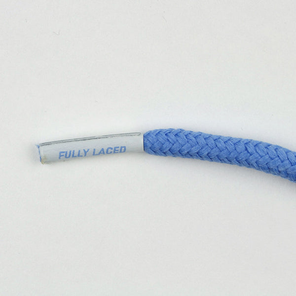 Fully Laced XI Shoelaces - Columbia Blue - Street Lab UK - 1