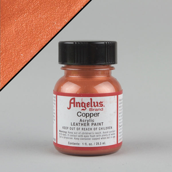 Angelus Leather Paint 1oz - Copper - Street Lab UK