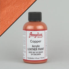 Angelus Leather Paint 4oz - Copper - Street Lab UK