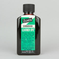Zoes Leather Dye 74ml (2.5oz) - Cordovan - Street Lab UK