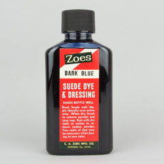 Zoes Suede Dye 74ml (2.5oz) - Dark Blue - Street Lab UK