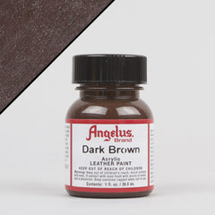 Angelus Leather Paint 1oz - Dark Brown - Street Lab UK