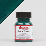 Angelus Leather Paint 1oz - Dark Green - Street Lab UK