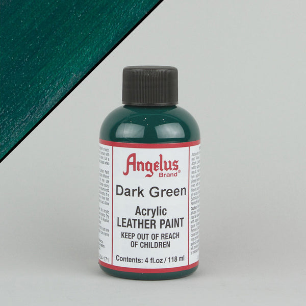 Angelus Leather Paint 4oz - Dark Green - Street Lab UK