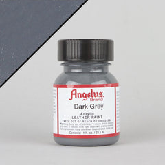 Angelus Leather Paint 1oz - Dark Grey - Street Lab UK