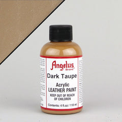 Angelus Leather Paint 4oz - Dark Taupe - Street Lab UK