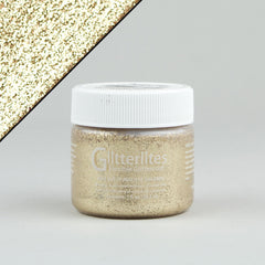 Angelus Glitterlites Leather Paint - Desert Gold 1oz - Street Lab UK