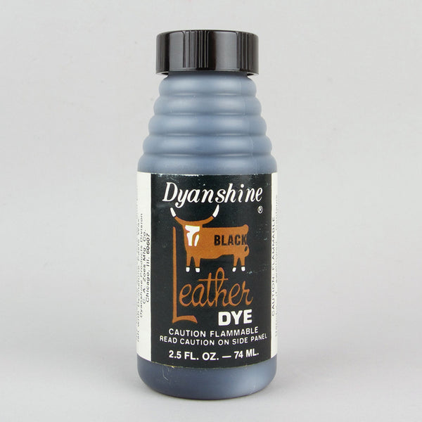 Dyanshine Leather Dye 74ml (2.5oz) - Black - Street Lab UK