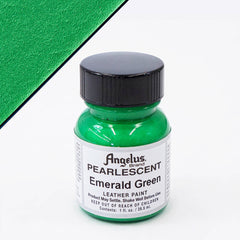 Angelus Leather Pearlescent Paint 1oz - Emerald Green