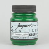 Jacquard Textile 2.25oz - Emerald Green - Street Lab UK